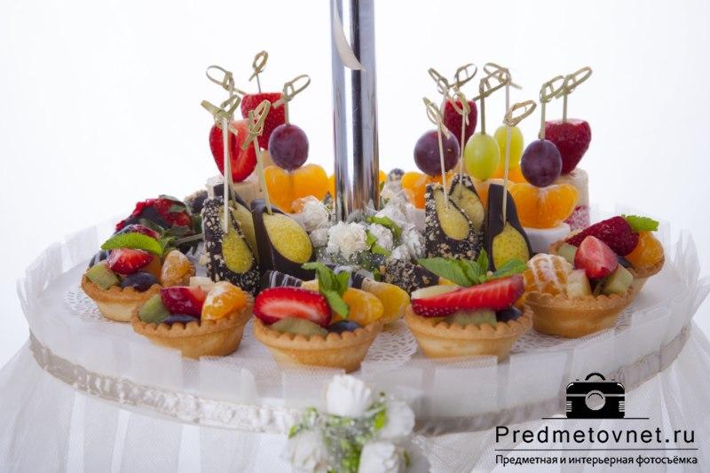 Предметная фотосъёмка еды для Sweet Service