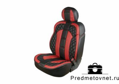 фото черно-красное кресло для автомобиля