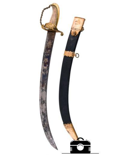 фото холодное оружие - сабля с чехлом