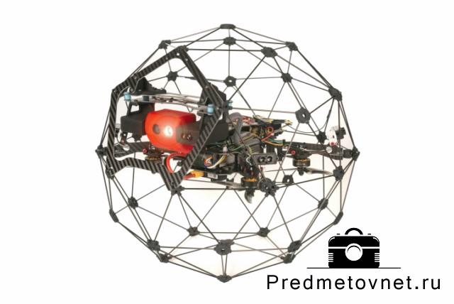 фото квадрокоптер с защитным корпусом