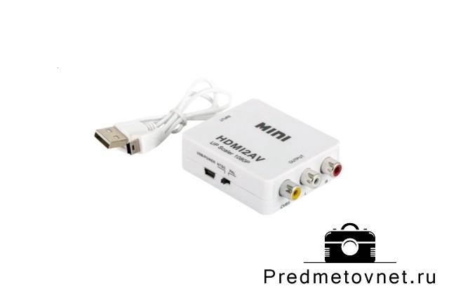 фото переходник для мобильных устройств белого цвета